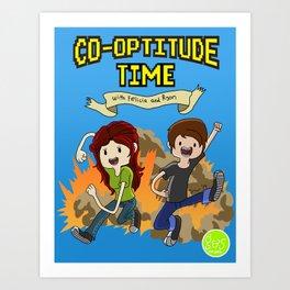 Co-Optitude Time Art Print