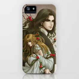 Thirst of Angels - Jana and Michael iPhone Case
