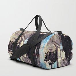 Cuore - ink & watercolor drawing-painting Duffle Bag