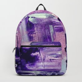 Purple Mess Backpack