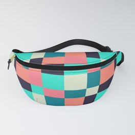 colorful squares Fanny Pack