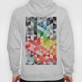 Retro pattern of triangles geometric shapes Hoody