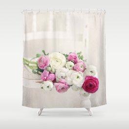 Playful Petals Shower Curtain