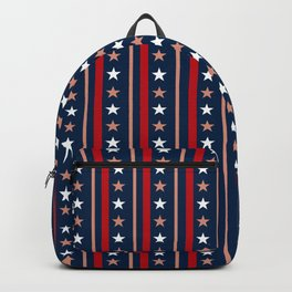 Usa colors pattern Backpack