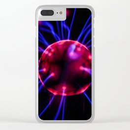 The Brain Connection (Color) Clear iPhone Case