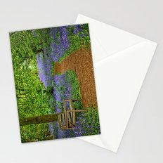 Bluebell path Stationery Cards