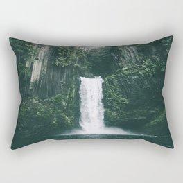 Toketee Falls Rectangular Pillow