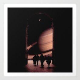 Cassini Art Print