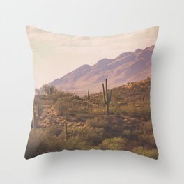 Wild West II Throw Pillow