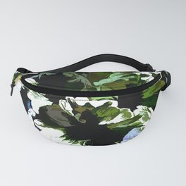 Green Daisies For Saint Patricks Day Fanny Pack