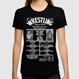 #7-B Memphis Wrestling Window Card T-shirt