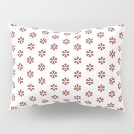 Pattern fashion art background style drawing illustration ornament wallpaper valentine day Pillow Sham