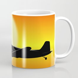 DC-3 passing sun Coffee Mug