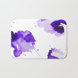 Purple Palette Splashes Bath Mat