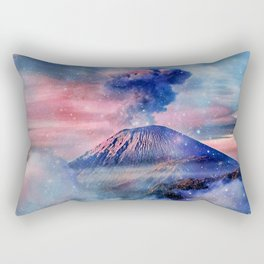Active volcano Rectangular Pillow
