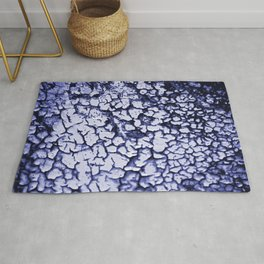 Crackle texture Rug