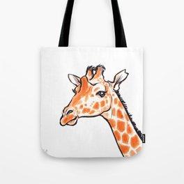 Kipawa the Giraffe Tote Bag