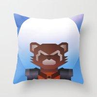 Guardians of the Galaxy - Rocket Raccoon Throw Pillow