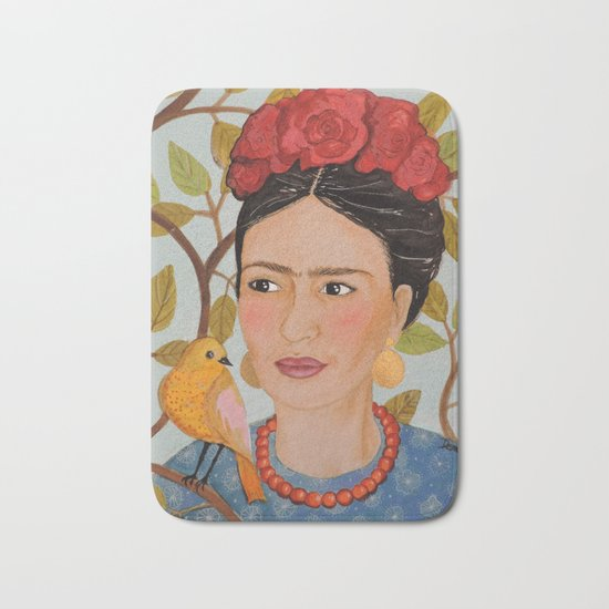 viva Frida Bath Mat