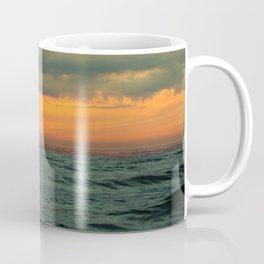 sunset over the Baltic Sea Coffee Mug