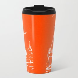 Comrades in Orange Travel Mug