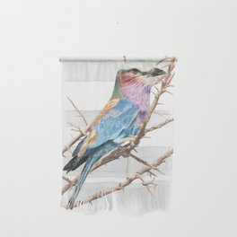 Lilac breasted roller Wall Hanging