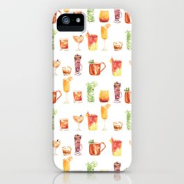 Happy Hour Drinks iPhone Case
