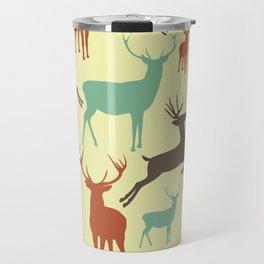 Reindeers Travel Mug