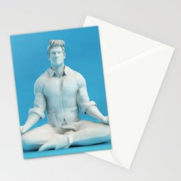 Keeping Calm in Stressful Situations as a Mental Concept Stationery Cards