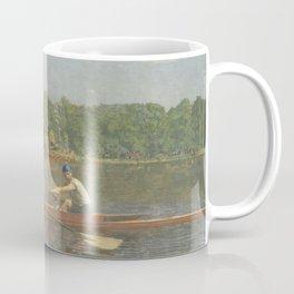 The Biglin Brothers Racing by Thomas Eakins Coffee Mug