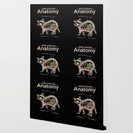 Anatomy of a Raccoon Wallpaper