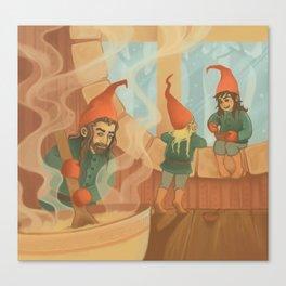 Finnish House Elves Canvas Print