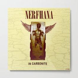 Nerfhana  In Carbonite Metal Print