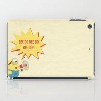 minion iPad Cases featuring minion by Dripdrop