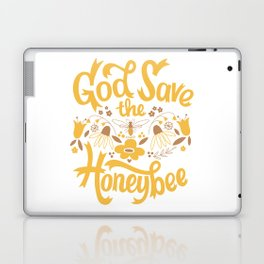 God Save the Honeybee Laptop & iPad Skin
