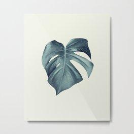 Monstera Leaf #1 #tropical #decor #art #society6 Metal Print