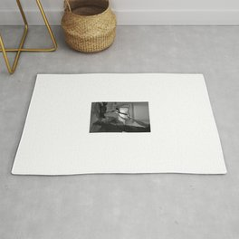 Photograph Bdsm style with a man and a nude woman #C5092 Rug