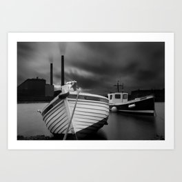 Cockenzie Power Station Art Print