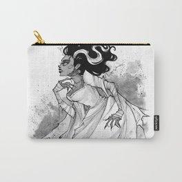 Inktober Bride of Frankenstein Carry-All Pouch