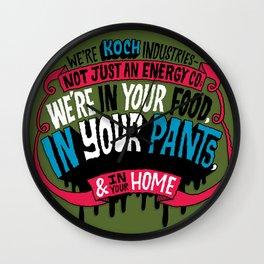 Koch In Your Pants Wall Clock