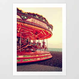 Brighton - England Art Print