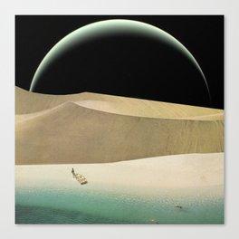 Utopian Tide Canvas Print