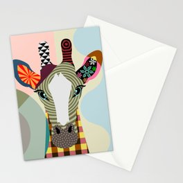 Stand Tall Giraffe Stationery Cards