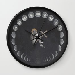 17th Century Witch Wall Clock