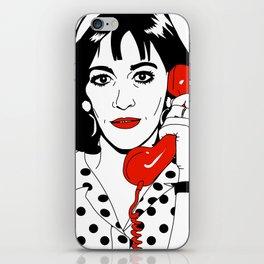 Carmen Maura iPhone Skin