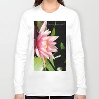 relax Long Sleeve T-shirts featuring Relax by Enri-Art