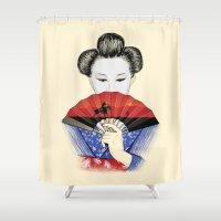 western Shower Curtains featuring Western Innocence by Yuri Lobo