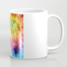 Tie Dye Watercolor Coffee Mug