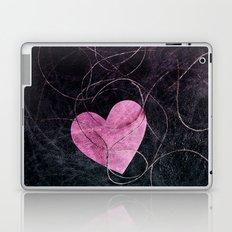 Heart grunge Laptop & iPad Skin