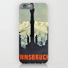 manifesto Innsbruck Tyrol Austria Skiing iPhone Case